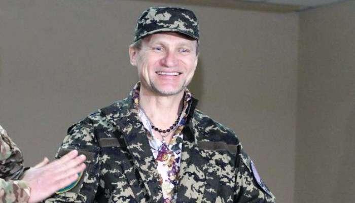 Музикант Олег Скрипка став бійцем батальйону «Дніпро-1» (ФОТО)