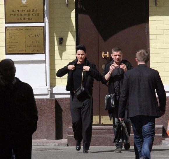 Дашу Астаф'єву судитимуть за порушення закону (фото)