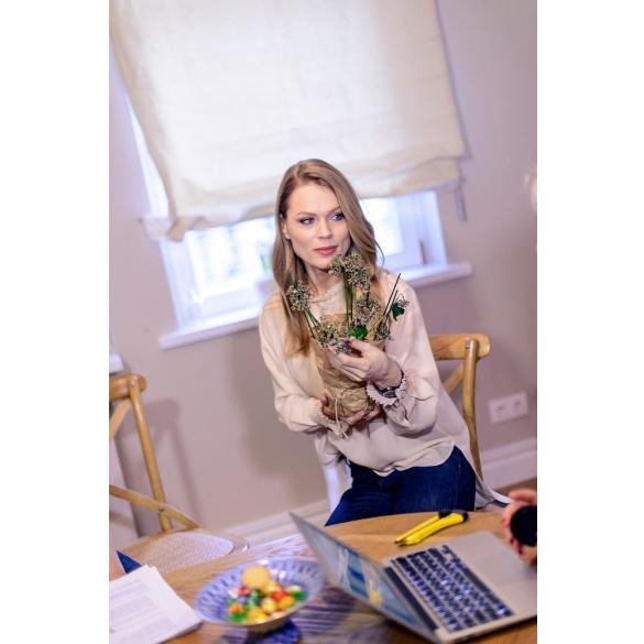 Ольга Фреймут відкрила двері власної квартири в рамках експерименту (фото)