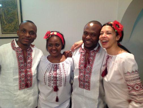 Телеведуча Кароліна Ашіон відгуляла африканське весілля в Нігерії (ФОТО)