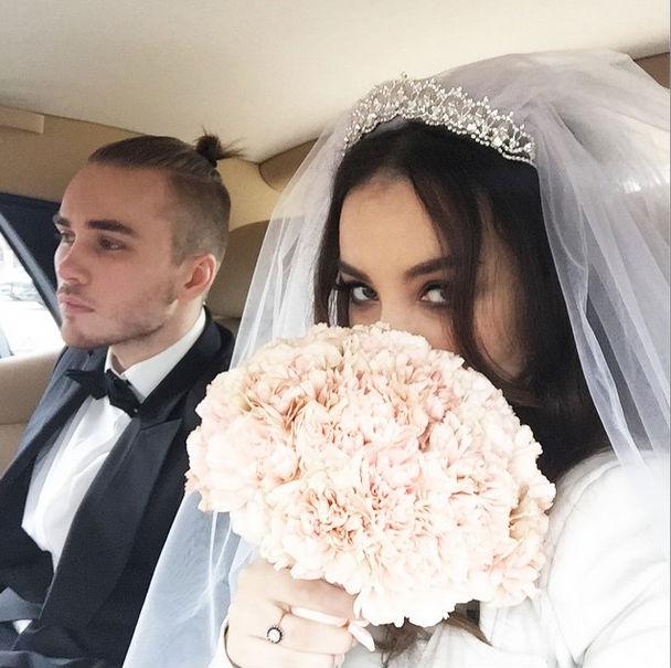 Вікторія Дайнеко поєднала себе узами шлюбу (фото)
