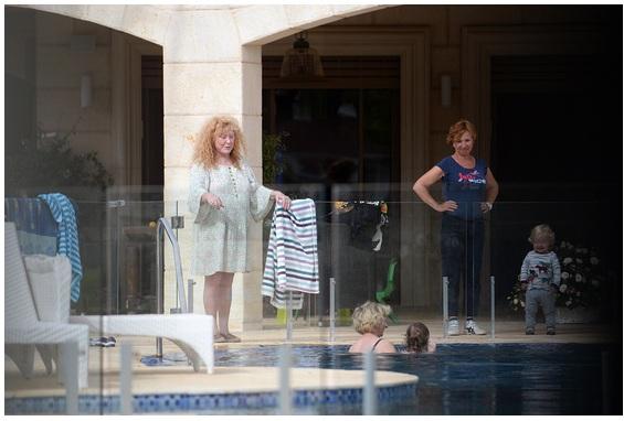 Як Алла Пугачова відпочивала на своїй віллі в Ізраїлі (фото)