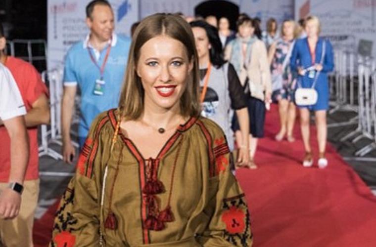 Собчак відреагувала на критику за українське вбрання і різко висловилася про Лорак (ФОТО)