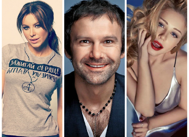 Лорак, Кароль, Кузьма и Вакарчук возглавили рейтинг любимых исполнителей среди украинцев