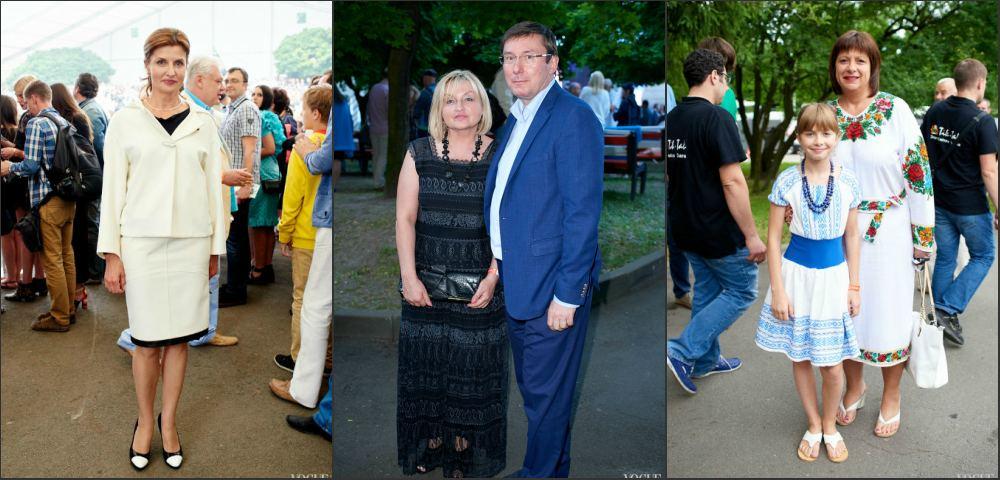 Як Марина Порошенко, Луценки і Яресько «тусили» у Львові (ФОТО)