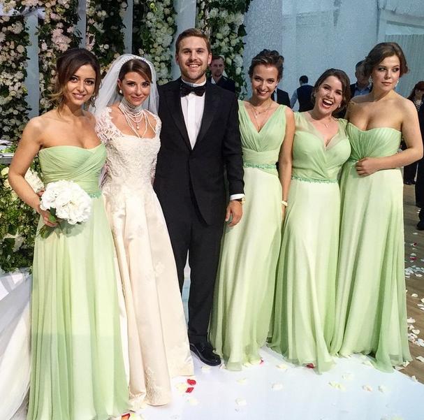 Весілля дочки Юдашкіна стала подією року в Росії (фото)