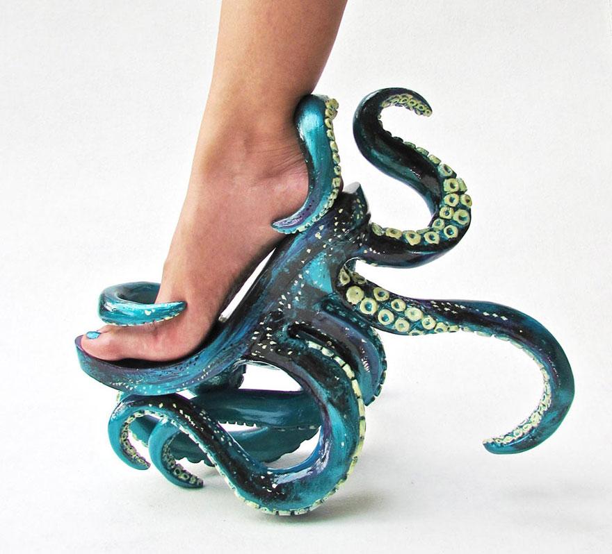 Світ моди: туфлі-монстри для дуже сміливих модниць (ФОТО)