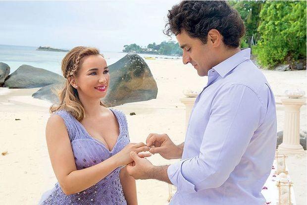 З'явилися перші фото з казкового весілля Анфіси Чехової на Сейшелах