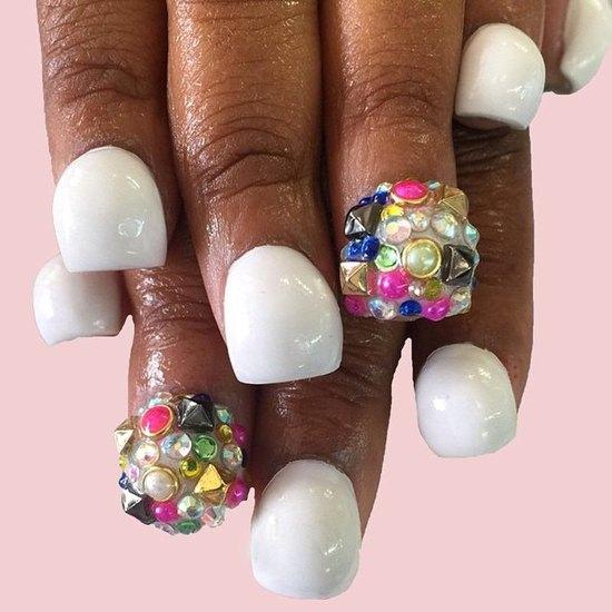 Bubble nails: божевільний манікюр став хітом цього літа (ФОТО)
