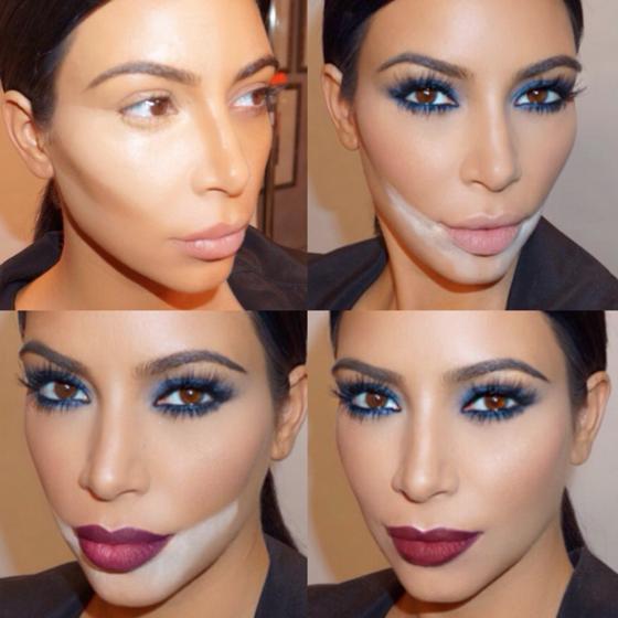 Ежедневный макияж Ким Кардашьян: 50 этапов и содержимое косметички на 1600 долларов