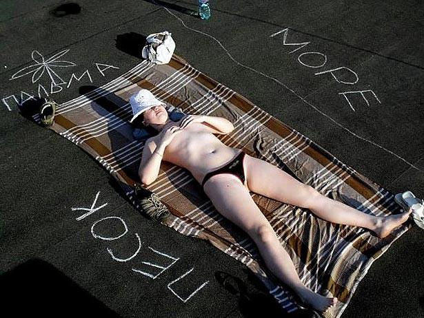 Як не треба засмагати або жертви сонячних ванн (ФОТО)