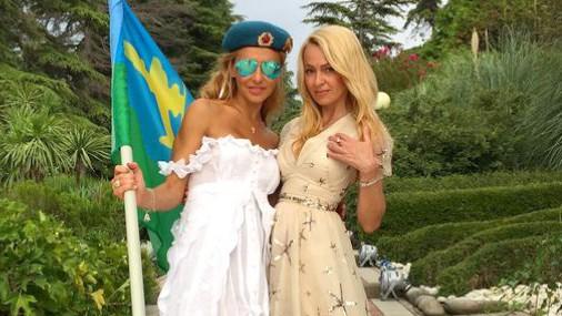 Яна Рудковська і Тетяна Навка роздяглися на відпочинку в Сочі (ФОТО)