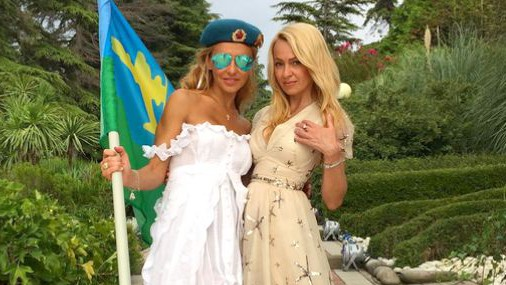 Яна Рудковская и Татьяна Навка разделись на отдыхе в Сочи (ФОТО)