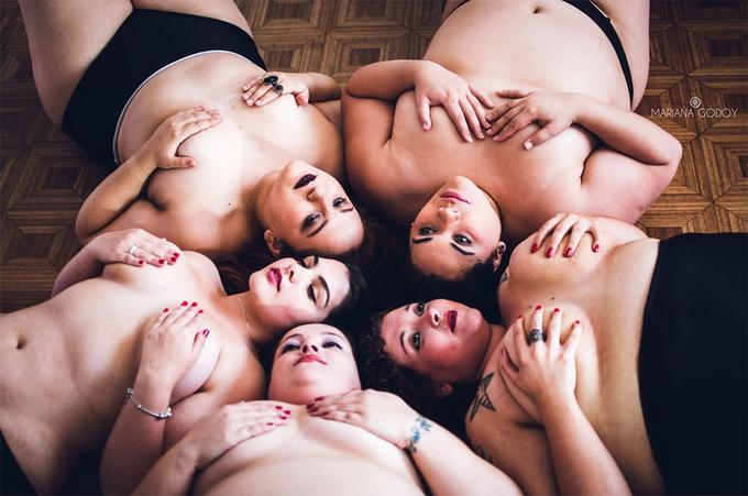 Полная красота: толстушки провокативно разделись, чтобы разрушить стандарты (ФОТО)
