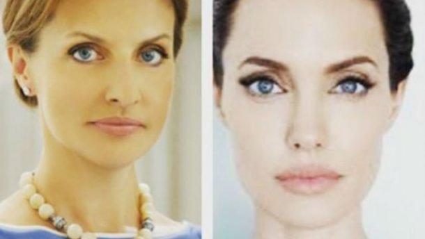 Первую леди Украины сравнили с Анджелиной Джоли (ФОТО)