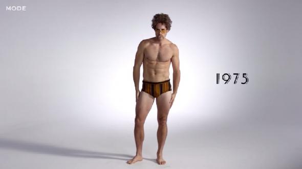 Чоловічі купальники за останні 100 років: як змінювалася пляжна мода на плавки (ВІДЕО)