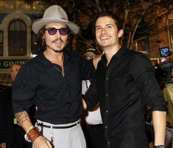 Джонні Депп і Орландо Блум скандалять на зйомках нових «Піратів»