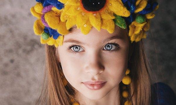 8-річна українка стала найкрасивішою дівчинкою світу (ФОТО+ВІДЕО)