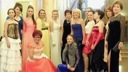 В «ДНР» устроили бал для «аристократов» местного разлива (ФОТО)
