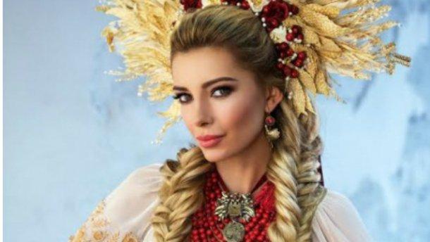«Мисс Украина Вселенная» поразила национальным костюмом (ФОТО)