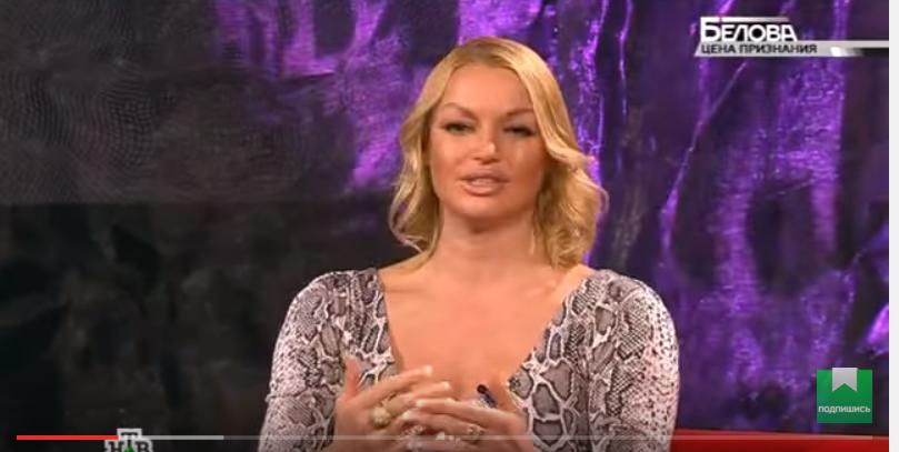 П'яна Волочкова влаштувала скандал на шоу російського ТБ (ВІДЕО)