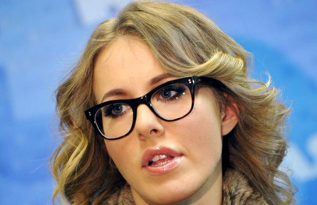 Ксения Собчак шокировала своим внешним видом (Фото)