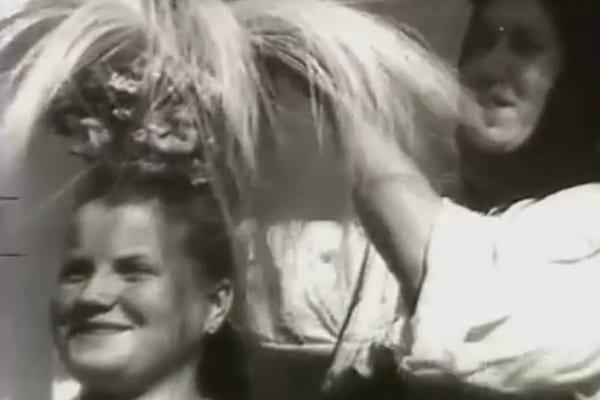 Як святкували українське весілля в 40-х роках: унікальне відео