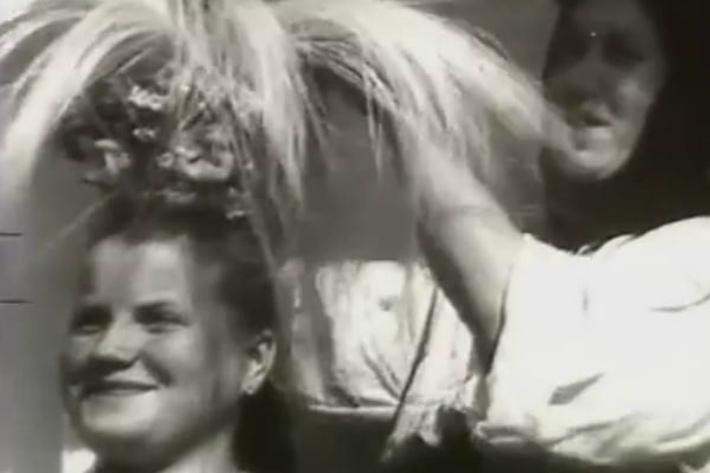 Как украинцы праздновали свадьбу в 40-х годах: уникальное видео