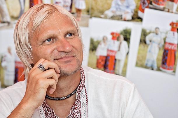 Олег Скрипка вперше показав синів, яких ростить козаками (ФОТО)