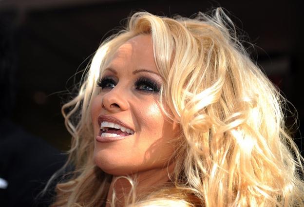 Памела Андерсон случайно обнажила грудь на Венском балу (ФОТО)