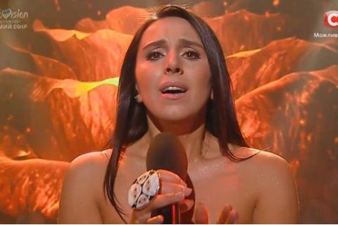 Джамала показала сукню для конкурсу на Євробачення (Фото)