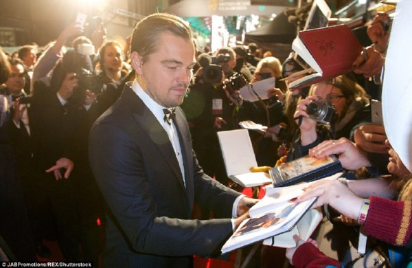 «Легенда Хью Гласса» получила пять премий Британской кинотелеакадемии (Фото)