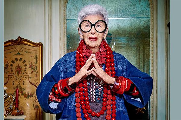 94-летняя Айрис Апфель снялась в рекламной кампании австралийского бренда (ФОТО)