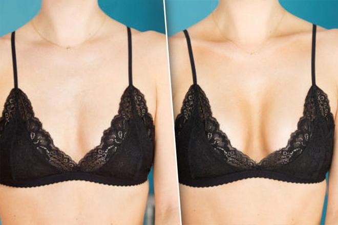 Как увеличить грудь с помощью косметики?