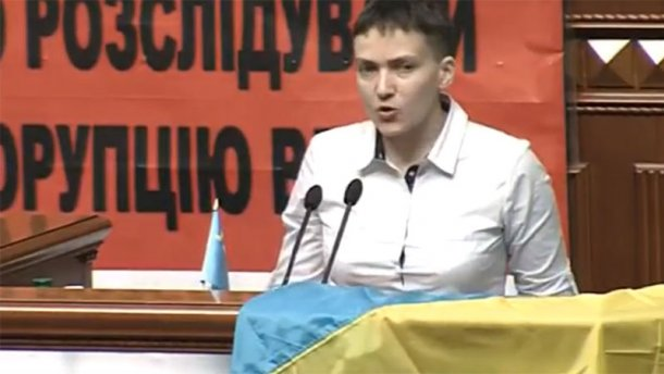 Савченко рассказала про тюремную переписку с Джамалой (ВИДЕО)