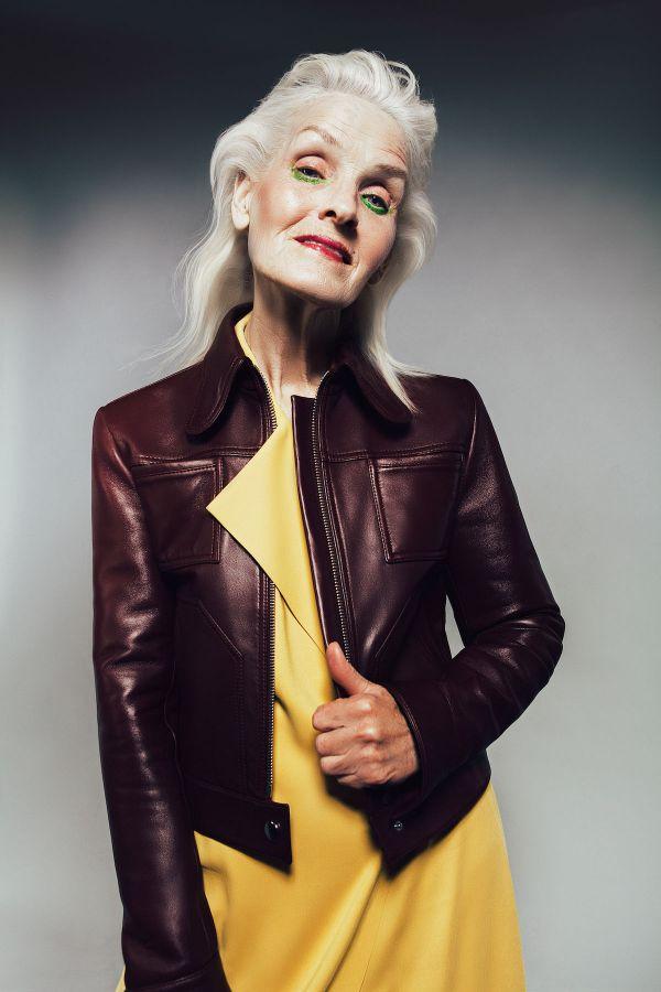 70-летняя Украинка покорила мир моды (ФОТО)
