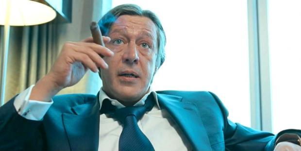 Російський актор Єфремов шокував своєю поведінкою на «Кінотаврі» (відео)