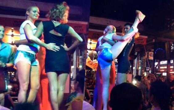 Скандал: танець Волочкової з трансвеститом шокував мережу (ВІДЕО)