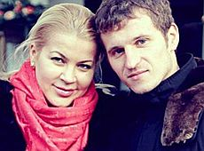 Дружина футболіста Алієва заявила, що чоловік побив її та сина (фото)