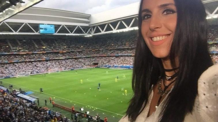 Джамала у Франції вболівала за українську збірну (ФОТО)