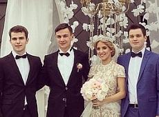 Голова держохорони Гелетей оженив сина на даху (ФОТО)