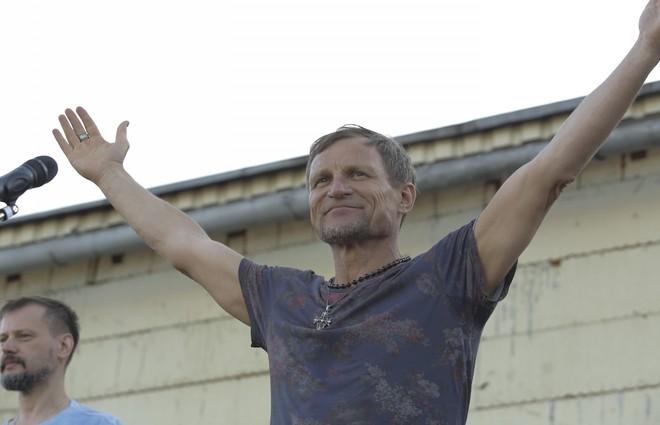 Олег Скрипка дасть три концерти в Донбасі (ФОТО)