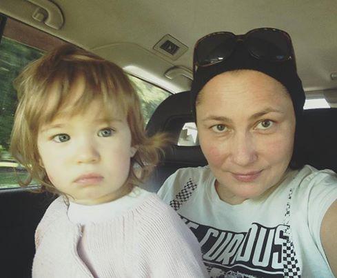 Олена Мозгова показала свою донечку Соломію (ФОТО)