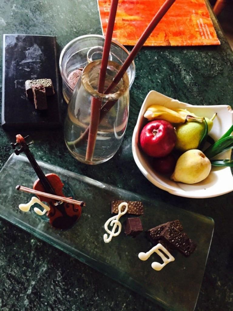 шоколадные скрипки