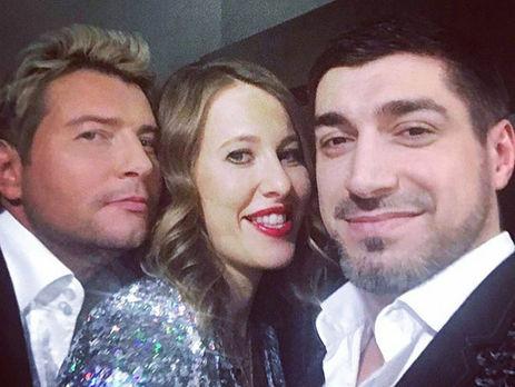 Тамада Собчак почала вести весільні забави