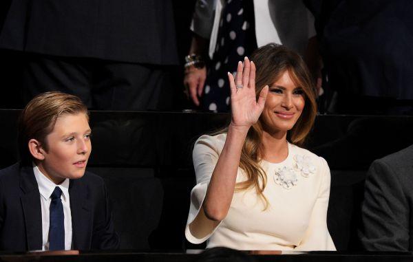 Горе в сім'ї: 10-річний син Дональда Трампа серйозно хворий