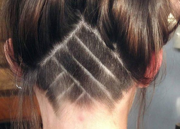 Стильні зачіски з поголеною потилицею: тенденції 2017