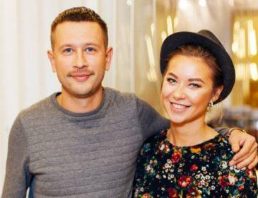 А животик вже чималенький: Дмитро Ступка та Поліна Логунова вперше стануть батьками (ФОТО)