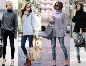 Водолазка стала хітом весняного сезону: приклади модного поєднання
