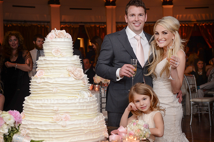 *NO WEB* **EXCLUSIVE** New Orleans, LA - Jamie Lynn Spears and her fiance James Watson tied the knot in New Orleans on Friday March 13. Spears, 22, wore a Liancarlo gown and her 4-year-old daughter Maddie from a previous relationship served as flower girl. Her sister Britney Spears' two sons, Jayden James and Sean Preston, acted as ring bearers and her father Jamie walked the aspiring singer down the aisle. Approximately 150 to 200 guests were present at the ceremony, which was held at the Audubon Tea Room. Spears and Watson have been together for four years and announced their engagement last March. She was previously engaged to Casey Aldridge, the father of Maddie.  Exclusive Quotes from the bride:  )how do Jamie Lynn and Jamie Watson feel about their big day? -